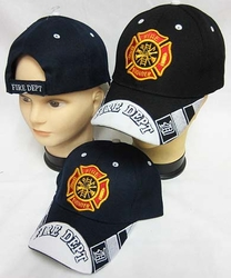 Firefighter Hats - CAP651 Fire Dept Cap