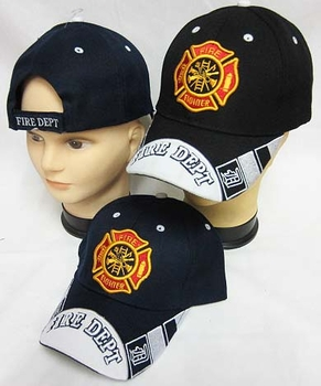 Wholesale Bulk Mens Hats and Caps Bulk Suppliers Wholesale Patriotic - CAP651 Fire Dept Cap