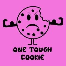 Wholesale Funny T-Shirts, Bulk T-Shirts - 21332 one tough cookie
