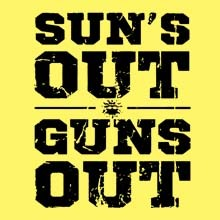Wholesale Funny T-Shirts, Bulk T-Shirts - 21564 suns out-guns out