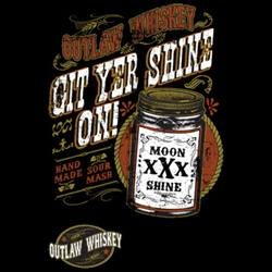 Wholesale, Funny, T Shirts, Clothing, Apparel, Bulk, Suppliers - GIT YER SHINE ON  18176D2-1