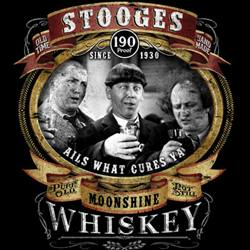Wholesale, Funny, T Shirts, Clothing, Apparel, Bulk, Suppliers - STOOGES MOONSHINE  18667D2-1