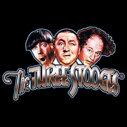 Wholesale, Funny, T Shirts, Clothing, Apparel, Bulk, Suppliers - THE THREE STOOGES  08768HL2-1