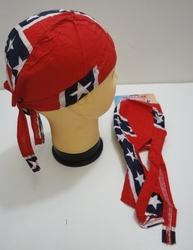 Wholesale Resale Products - Bulk Suppliers - BN162. Skull Cap-Large Rebel Flag