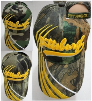 Realtree Hardwoods HD® Camo - Wholesale Bulk Supplier - HT750C. PITTSBURGH Hat [Camo] Lines Only