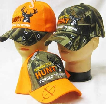 Bulk, Apparel - Wholesale Boutique Clothing, Born To Hunt Deer Hats, Apparel, Wholesale, Bulk, Supplier - MSC Distributors