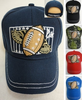 Wholesale Resale Products - Hats Caps - HT203. Child's Ball Cap [Football]