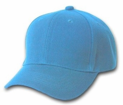 Wholesale Resale Products - Blank  Hats Caps Suppliers - HT900. Solid Light Blue Ball Cap