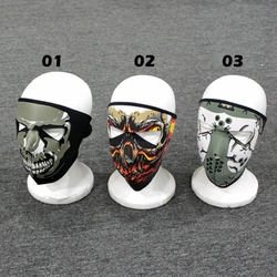 Wholesale Face Mask, Boutique Hats Bulk Suppliers - WB-006i Full Face Mask Design (#SMU012)-Single