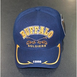 Wholesale Military Hats - BS-009 Buffalo Soldier (1866 on Bill)