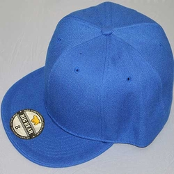 Wholesale Blank Hats - BS-223 BB Flat Fitted (2nd Grade) - Royal