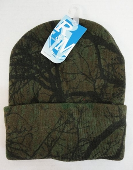 Realtree Hardwoods HD® Camo - Wholesale Bulk Supplier - WN674. Knitted Toboggan [Hardwoods Camo]