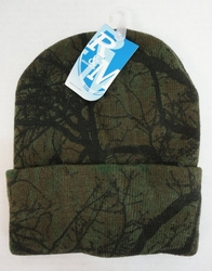 Realtree Hardwoods HD� Camo - Wholesale Bulk Supplier - WN674. Knitted Toboggan [Hardwoods Camo]
