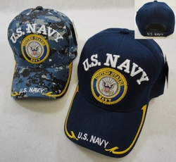 Clothing Apparel T-Shirts Hats Wholesale Bulk US Military - HT4846. Licensed US Navy [Seal] Ball cap Assorted Colors