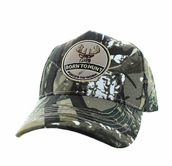 Wholesale Hunting Hats and Caps in Bulk - Hunting Cotton Velcro Cap (Hunting Camo & Hunting Camo) - VM688