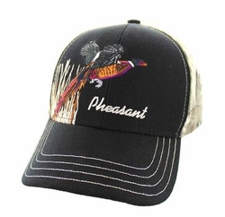 Wholesale Hunting Camouflage Embroidered Baseball Hats Caps Cheap Bulk - Outdoor Sports Velcro Cap (Black & Hunting Camo) - VM570