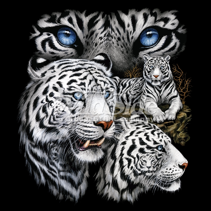 White tiger t shirts animal t shirts wholesale t shirts for Wildlife t shirts wholesale