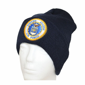 Wholesale Licensed US Military Hats Caps - MW-013 Air Force Winter Skull Cap