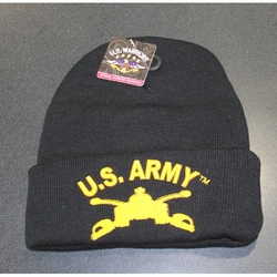 Wholesale Licensed US Military Hats Caps - MW-015t U.S. Army Armor Winter Skull Cap