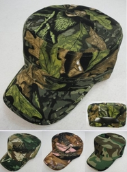Wholesale Resale Products - Men's Camo Hats - HT879. Cadet Hat [Assorted Camo]