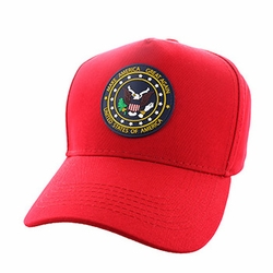 T Shirts Hats Wholesale Bulk Supplier - VM705-03 Make America Great Again Cotton Velcro (Solid Red)