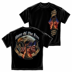 T Shirts, Military, Wholesale, Clothing - Home Of The Free Because Of The Brave T-Shirt
