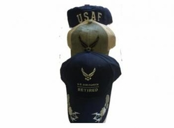 Wholesale Military Merchandise Patriotic Veterans Bulk Suppliers - AIR FORCE CAP-ASST
