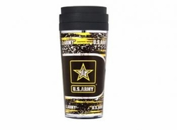 Wholesale Military Merchandise Patriotic Veterans Bulk Suppliers - ARMY METALLIC TUMBLER