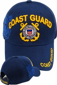Wholesale Licensed US Military Hats Caps - MI-152 Coast Guard