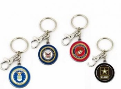 Wholesale Military Merchandise Patriotic Veterans Bulk Suppliers - MILITARY KEY CHAINS