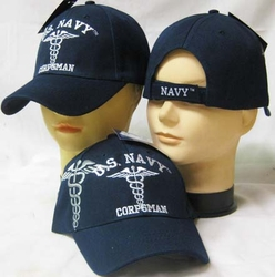 Wholesale US Navy Hats Caps - CAP602W Navy Corpsman Cap