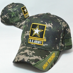 Army Apparel Military Wholesale T Shirts Embroidered Logo Baseball Hats Caps Bulk Suppliers - MM-158 Army Star
