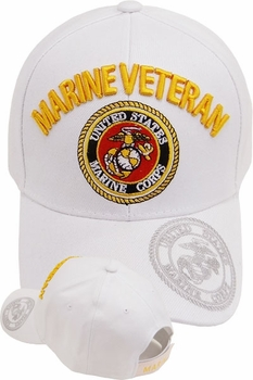 Wholesale US Marine Corps Hats Caps - MI-391 Marine Veteran