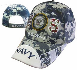 Caps Hats Wholesale Clothing, Military Hats Wholesale Bulk Supplier - CAP602EC Navy Emblem