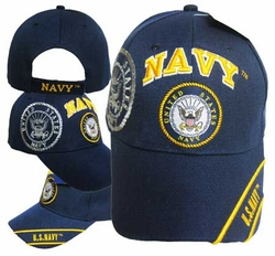 Wholesale US Navy Hats Caps - CAP602T NAVY
