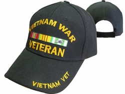 Wholesale Military Hats - CAP780A Vietnam Veteran Cap B