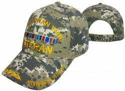 Wholesale Military Logo Embroidered Baseball Hats Caps Bulk - CAP782C AFGHANISTAN Vet