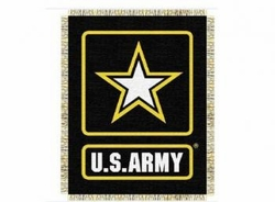 Wholesale Military Merchandise Patriotic Veterans Bulk Suppliers - ARMY THROW BLANKET
