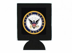 Wholesale Military Merchandise Patriotic Veterans Bulk Suppliers - NAVY CAN HOLDER