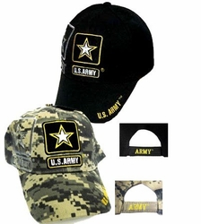 Wholesale Military Patriotic Army Hats and Caps Suppliers - ECAP356b. Military Embroidered Acrylic Cap