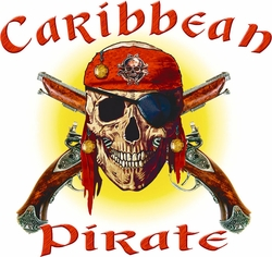 Wholesale Pirate T Shirts - Bulk Clothing Florida Resort Suppliers - 17410