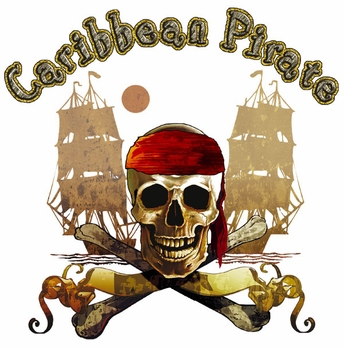 Wholesale Pirate T Shirts - Bulk Clothing Florida Resort Suppliers - 18027