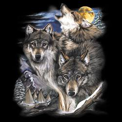 Wolf Clothing Apparel, T Shirts, Wholesale, Bulk - MSC Distributors