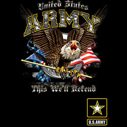 U.S. Army Wholesale T-Shirts Military Suppliers - US ARMY THIS WE'LL DEFEND 19921D1