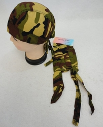 Wholesale Suppliers Wholesalers, Products - Camouflage Caps & Hats | Camouflage Baseball Cap & Hat - BN6B. Skull Cap-Green Brown Black Tan Camo