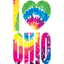 Tie Dye Ohio T Shirts Wholesale Bulk Supplier - 12905NBT4