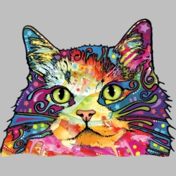 Wholesale Products - Pet Cat Neon T Shirts Graphic Funny Clothing in Bulk - 18491NBT4