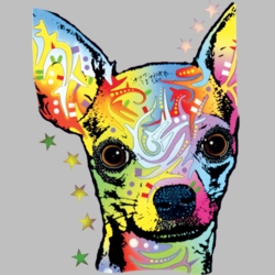 Wholesale Products - Chihuahua Dog Breed Neon T Shirts Graphic Funny Clothing in Bulk - 18494NBT4