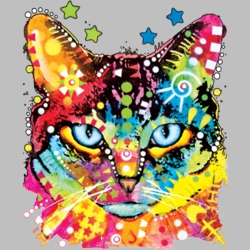 Wholesale Products - Cat Animal Pet Neon T Shirts Graphic Funny Clothing in Bulk - 19035NBT2