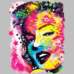 Wholesale Products - Marilyn Monroe Neon T Shirts Graphic Funny Clothing in Bulk - 19046NBT2